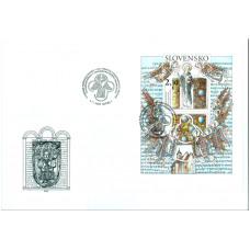 Špeciálna obálka: 1150. výročie ustanovenia sv. Metoda za panónskeho a veľkomoravského arcibiskupa