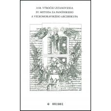 Príležitostná tlač - 1150. výročie ustanovenia sv. Metoda za panónskeho a veľkomoravského arcibiskupa