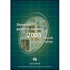 Ročník známok 2003