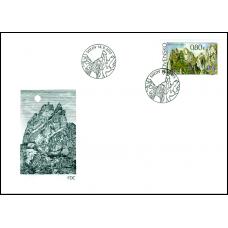 593 + 594 - Krásy našej vlasti: Súľovské skaly a Krásy našej vlasti: Manínska tiesňava