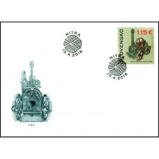 609 - Technické pamiatky: Parná lokomobila Umrath (1894)