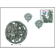 FDC 722 - Spoločné vydanie s Mongolskom: Sokoliarstvo