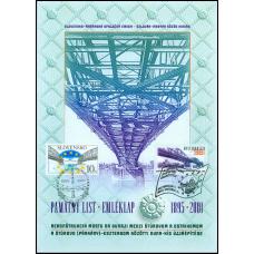 Pamätný list č. 2 - Most Štúrovo - Ostrihom