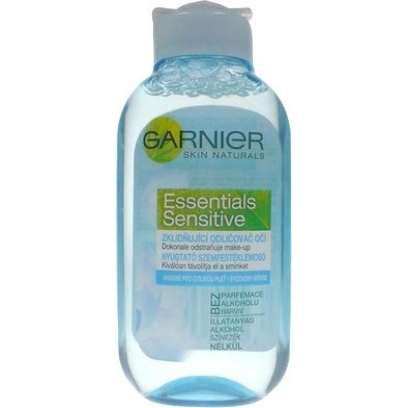 Garnier Essentials Sensitive upokojujúci odličovač očí pre citlivú pleť 125 ml