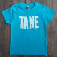 "Kristína - detské tričko ""TA NE"" (modré)"
