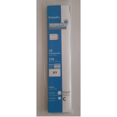 Schaubek - ochranné prúžky na známky (hawidky) - priehľadné