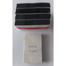 Hawidky čierne 24x40 (balenie 5x50ks)