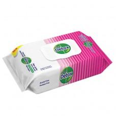 DETOX antibakteriálne vlhčené obrúsky 60 ks