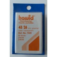 Hawidky číre 43x26