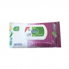 DETOX antibakteriálne vlhčené obrúsky 80 ks
