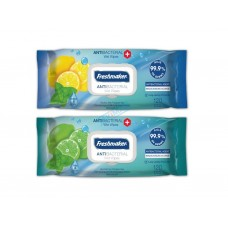 Freshmaker Antibakteriálne vlhčené utierky na ruky 120 Ks