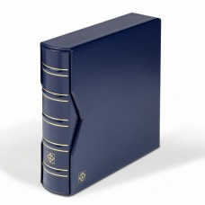 Album pre 200 FDC alebo listov, C6 formát s kazetou, modrý (CLFDC6SETBL)