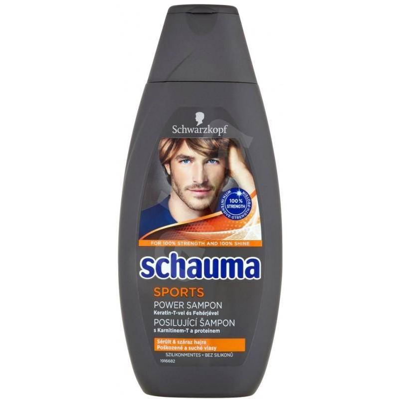 Schauma Sports Power šampón 400ml