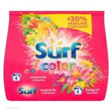 PRÁŠOK PRACÍ SURF COLOR TROPICALLily & Ylang Ylang 260g (4 prania)