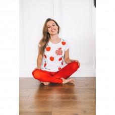Kristína - dámske tričko Jabĺčko