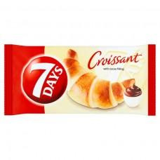 croissant s kakaovou náplňou