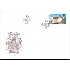 FDC 720 - Krásy našej vlasti: Kaštieľ Vodný hrad v Šimonovanoch