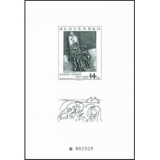 Príležitostná tlač č. 16 - Umenie - Endre Nemes: Barokové kreslo